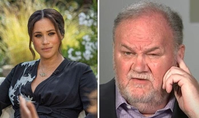 Meghan Markle's dad 'hand delivers letter to Oprah asking for an exclusive interview
