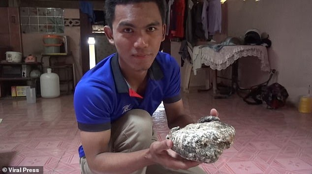 Thai fisherman finds TWO huge lumps of whale vomit worth up to £240k