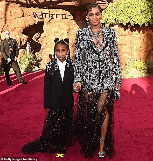 Blue Ivy Carter, the 9-year-old daughter of Beyoncé and Jay-Z, is already a Grammy winner