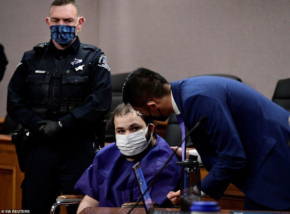 Boulder Shooting Suspect Makes 1st Court Appearance