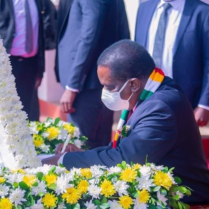 Top African Leaders attend Magufuli's state funeral in Dodoma Tanzania.