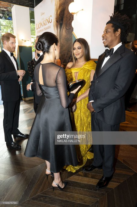 AMERICAN SINGER BEYONCE SHOWS SUPPORT TO MEGHAN MARKLE AFTER INTERVIEW