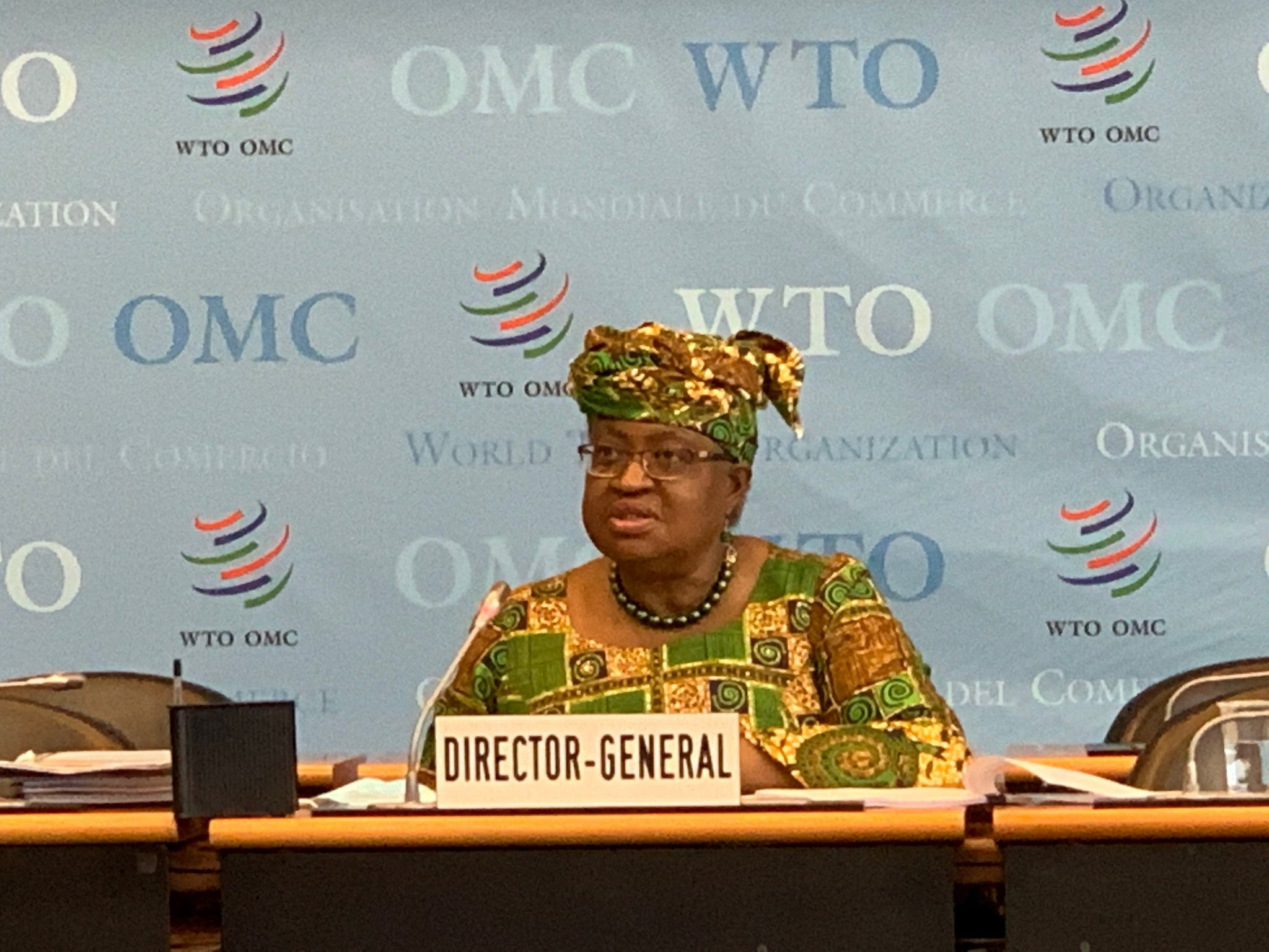 Dr Okonjo-Iweala officially resumed duty as the DG of the WTO