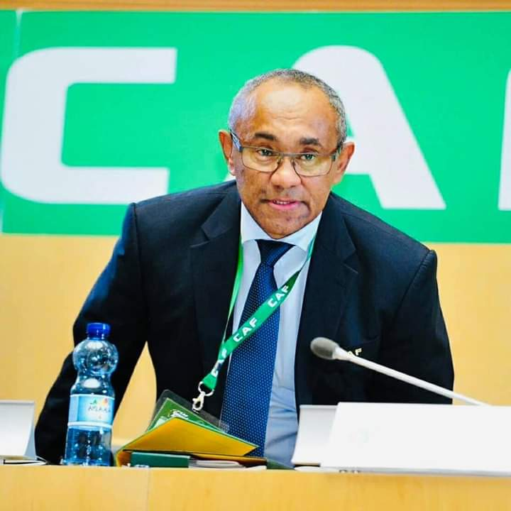Confederation of African Football (CAF) President Ahmad Ahmad suspended for 2 years