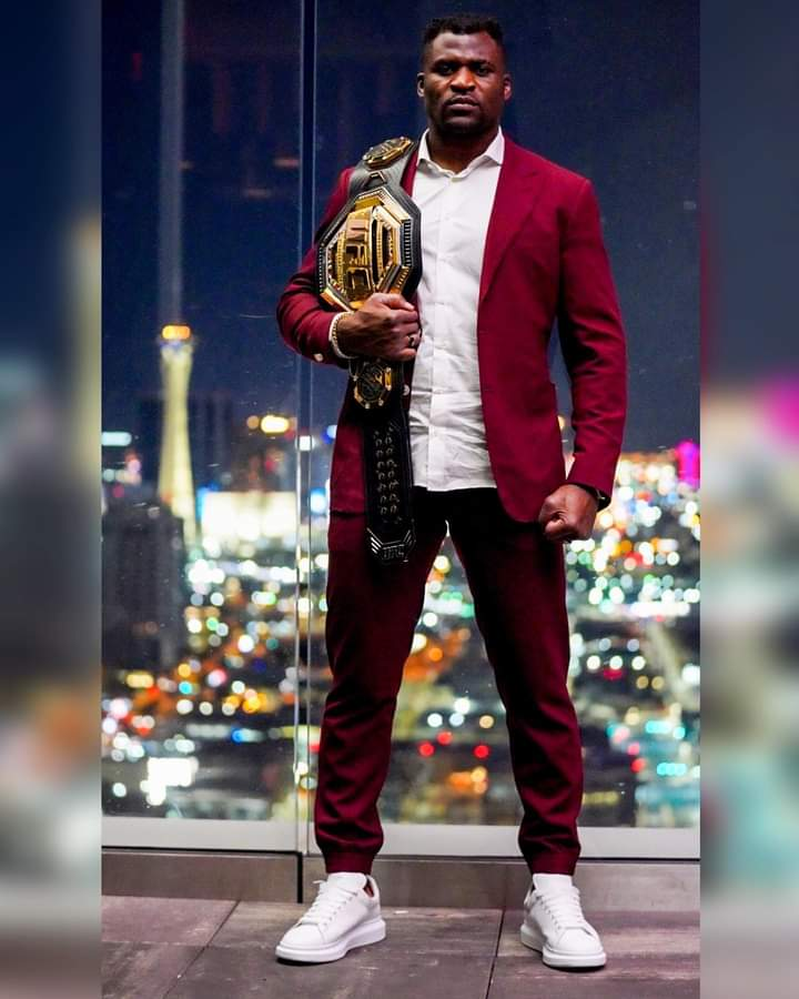 Cameroonian Francis Ngannou issues statement following KO win