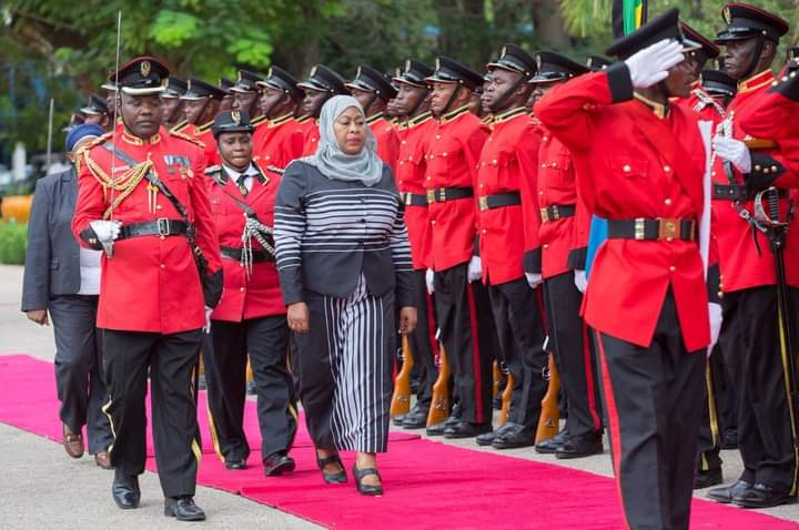 Her Excellency. Hon. Dr. Samia Suluhu