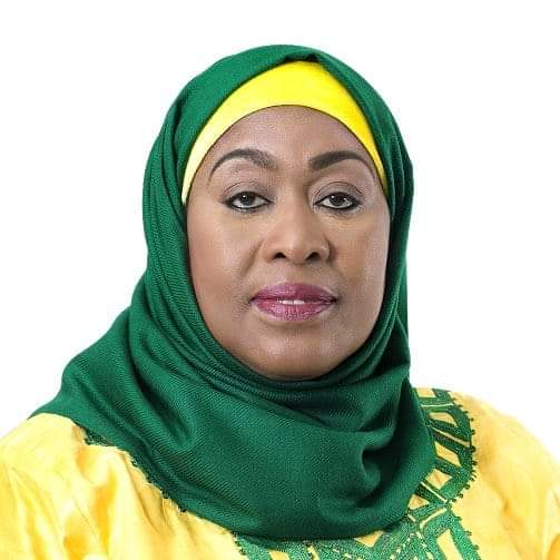 Meet Her Excellency. Hon. Dr. Samia Suluhu  The acting President of The United Republic of Tanzania.