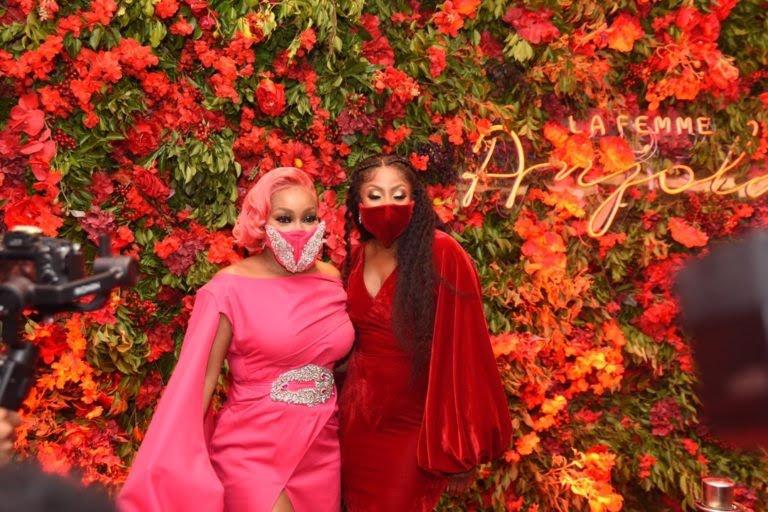 Nollywood celebrities battle for best dressed at Rita Dominic's La Femme Anjola premiere