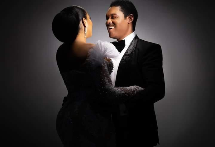 Nollywood actress Omotola Jalade-Ekeinde and husband celebrates 25th wedding anniversary