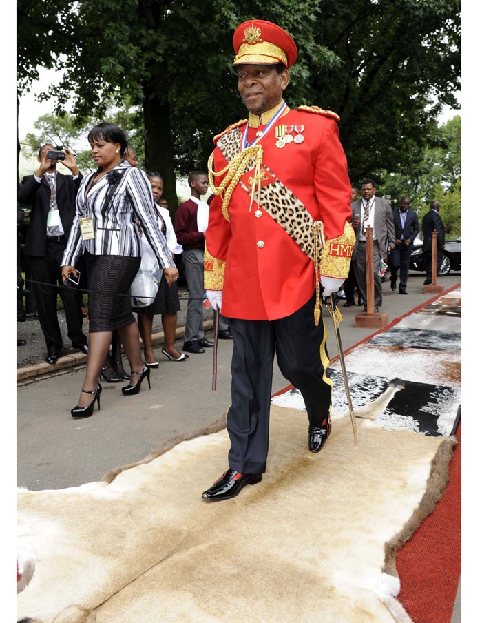 South Africa's Zulu King Goodwill Zwelithini dies, aged 72