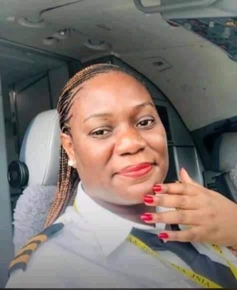 Meet pilot and First Officer FO Anna Tusajigwe MWAKASEGETanzanian