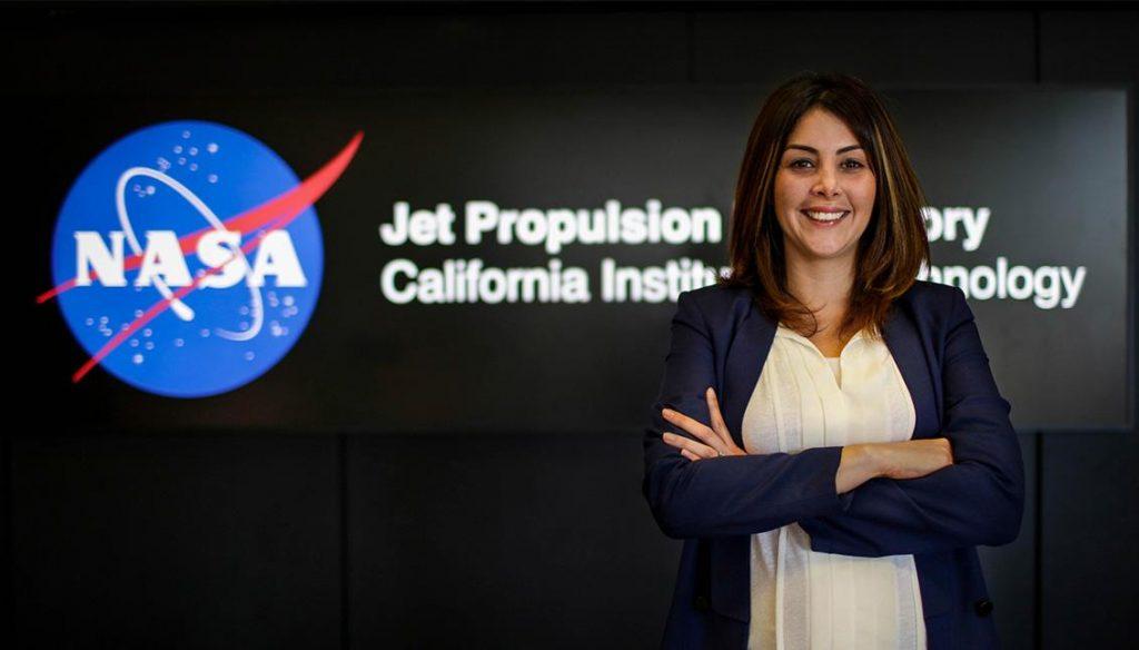 Diana Trujillo's take off mission to mars