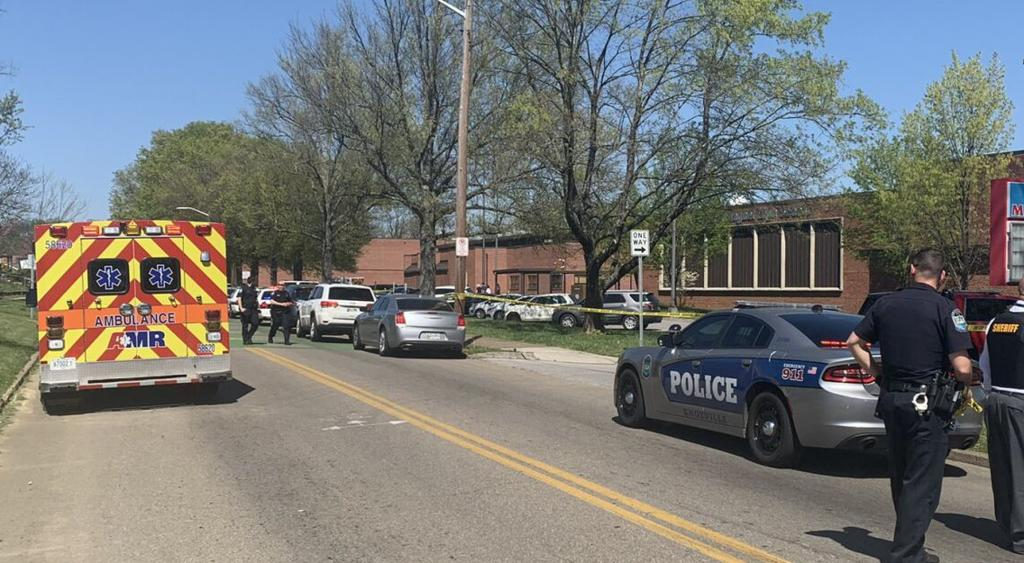 Multiple people shot, including police officer, at Knoxville high school
