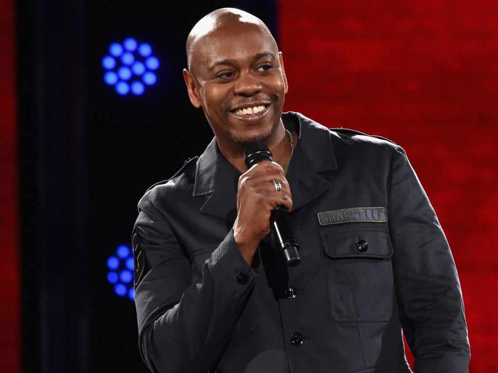 American comedian Dave Chappelle wants