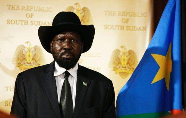 President Salva Kiir declares three days of mourning for Chad's President
