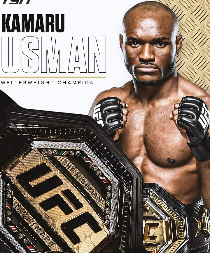 Nigerian Kamaru Usman retain title