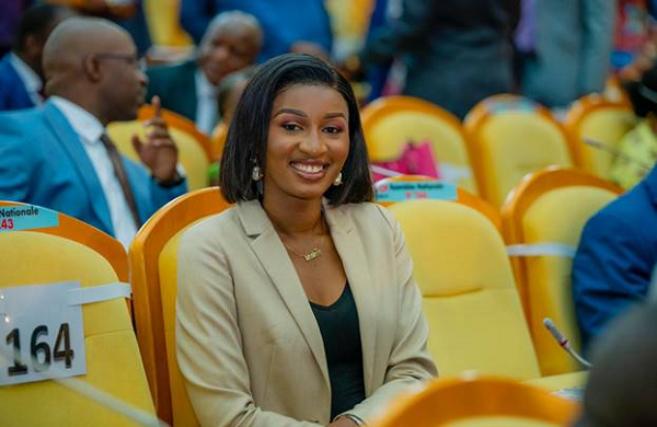 Meet a 28 year old Aminata Namasia the Deputy Minister of Primary DRC
