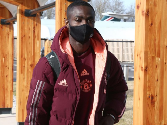 Manchester United defender Eric Bailly has tested positive for Covid-19