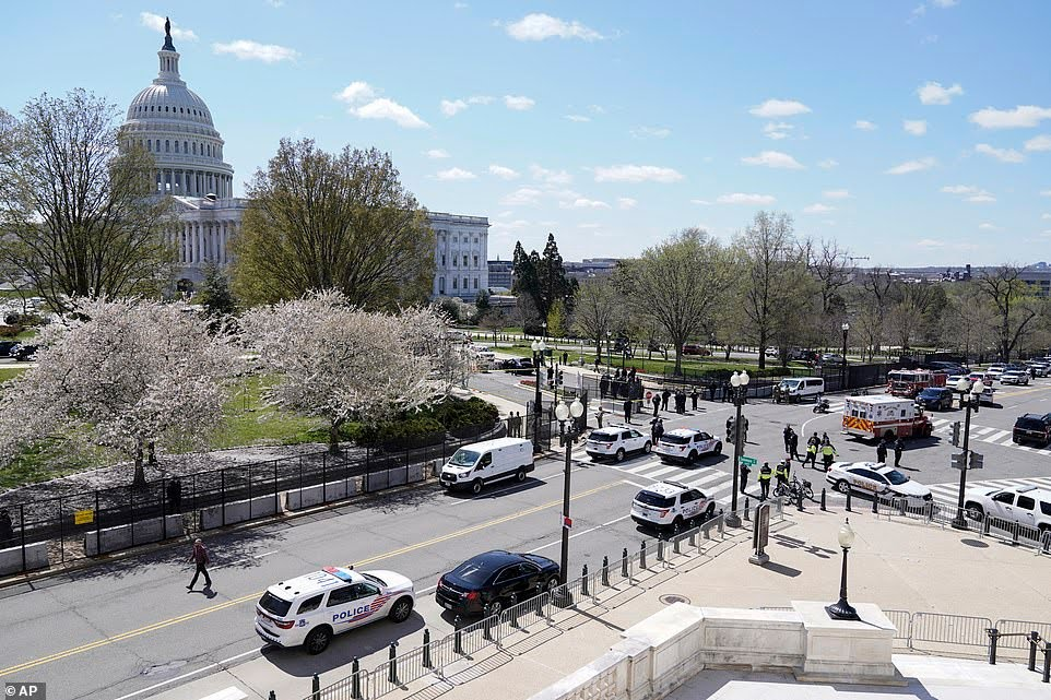 U.S. Capitol Police officer who was injured in vehicle attack today has died, police chief says.