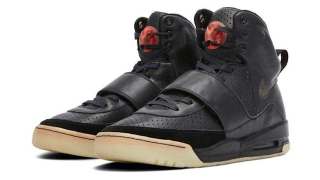 Kanye West's 'Grammy Worn' black leather Yeezy sneakers fetch a record $1.8M