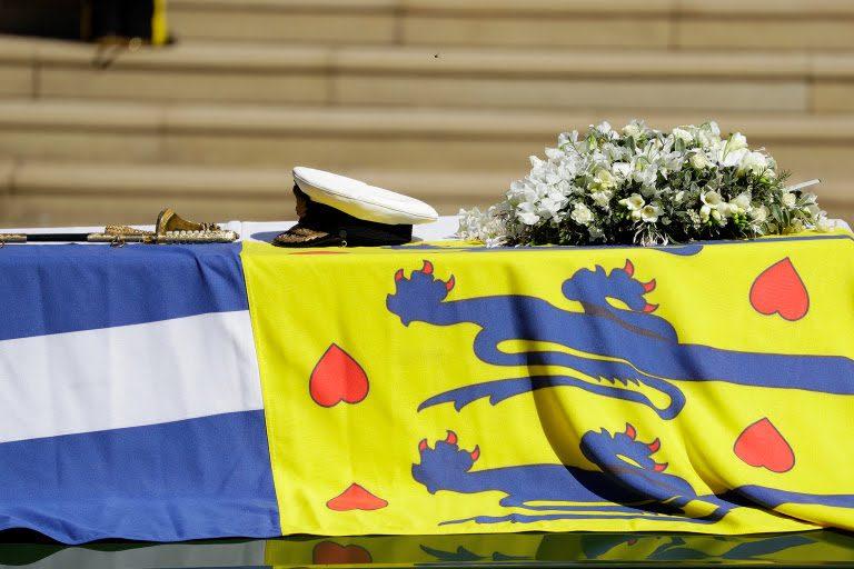 The funeral of Prince Philip Duke of Edinburgh