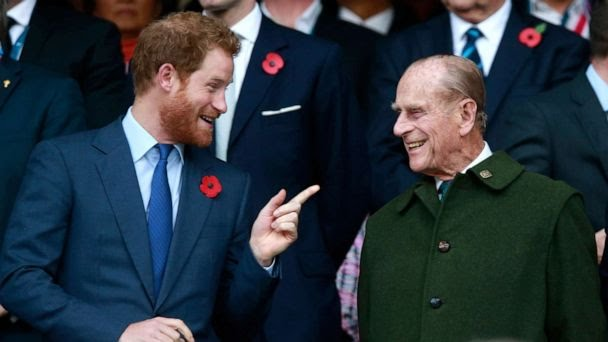 Prince Harry returns to UK for Prince Philip's funeral in 1st visit since leaving royals