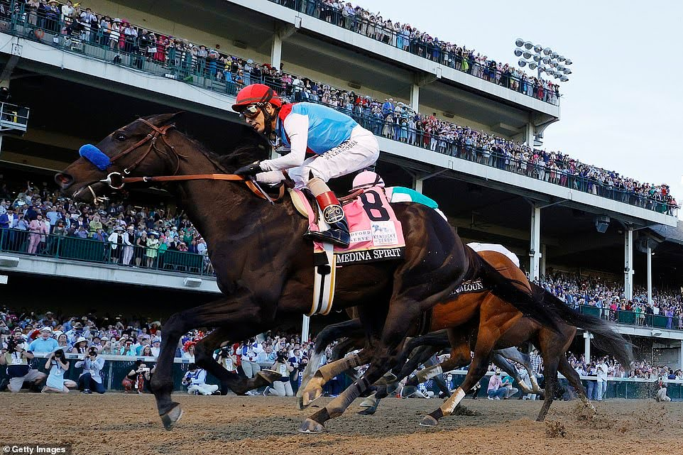 Medina Spirit wins the 147th Kentucky Derby