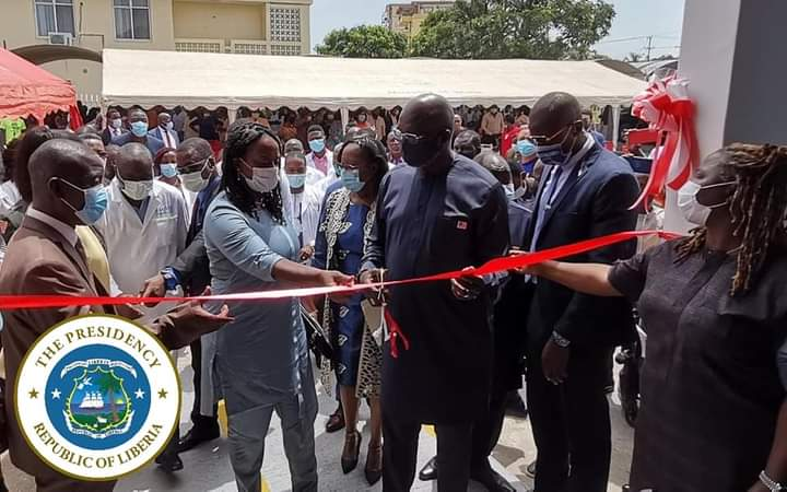 """Relentless to Bring in Modern Facilities to Hospitals,"""" President Weah"""