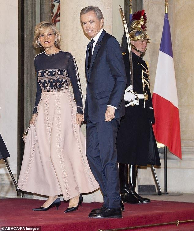 French tycoon overtakes Jeff Bezos