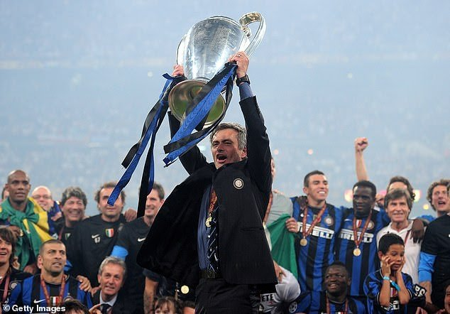 Jose Mourinho appointed AS Roma manager.