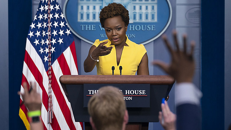 Karine Jean-Pierre Is The 1st Black Woman In Decades To Brief White House Press