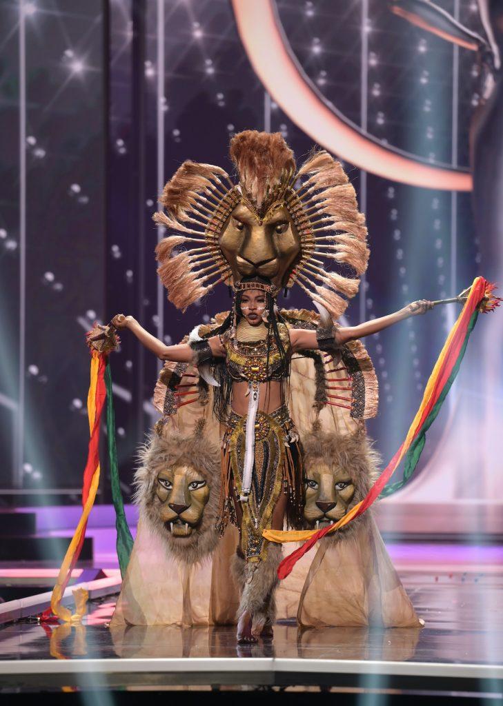 Cameroon Miss Universe candidate Angela Kossinda