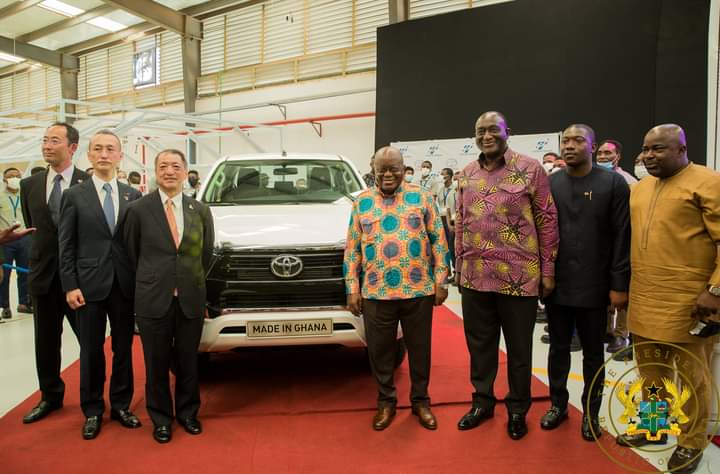 Akufo-Addo launches Toyota, Suzuki vehicle assembly plant in Ghana