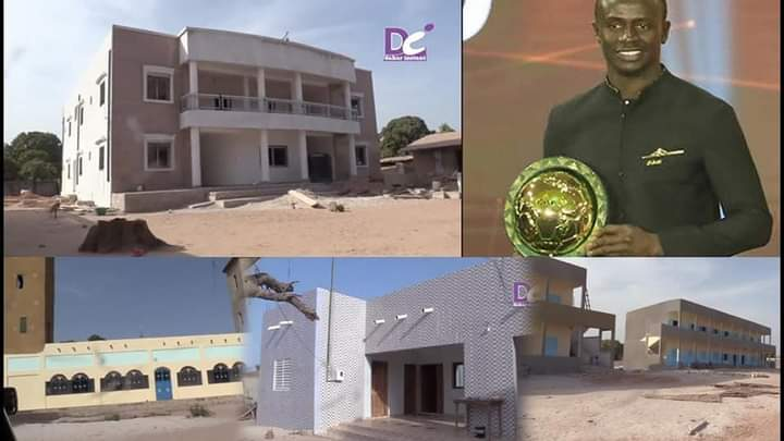 Liverpool star Sadio Mane builds a hospital for his hometown in Senegal