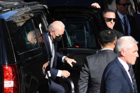 JOE BIDEN AND FIRST LADY TAKE PART IN MORNING MASS IN CORNWALL