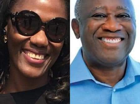You have to thank my little wife Nady- Laurent Gbagbo