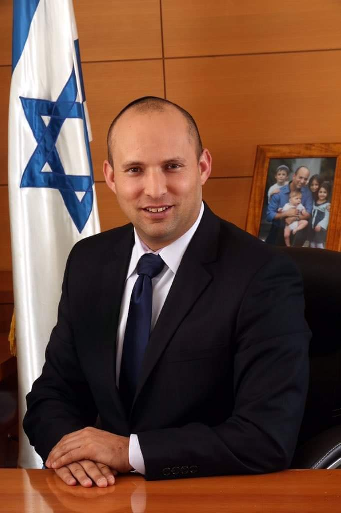 NAFTALI BENNETT BECOMES ISRAEL PM