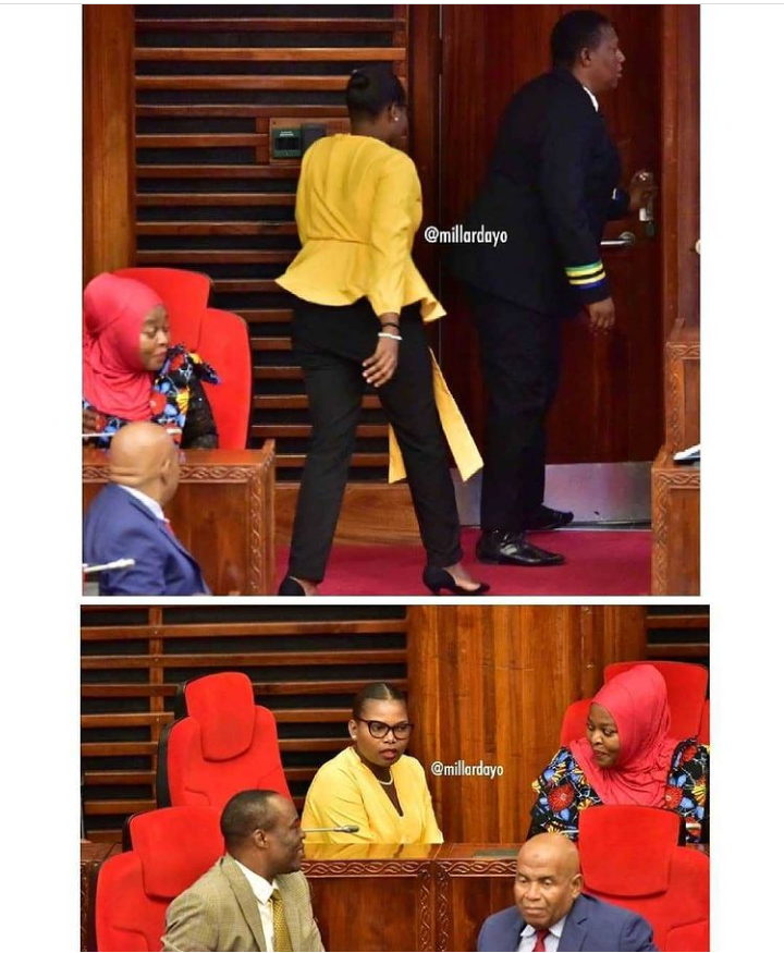 Tanzanian MO Condester Sichwale kicked out of Parliament