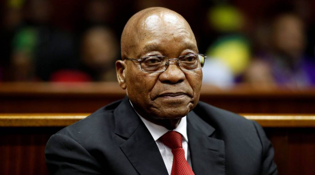 South Africa's former president was sentenced to 15 months in prison
