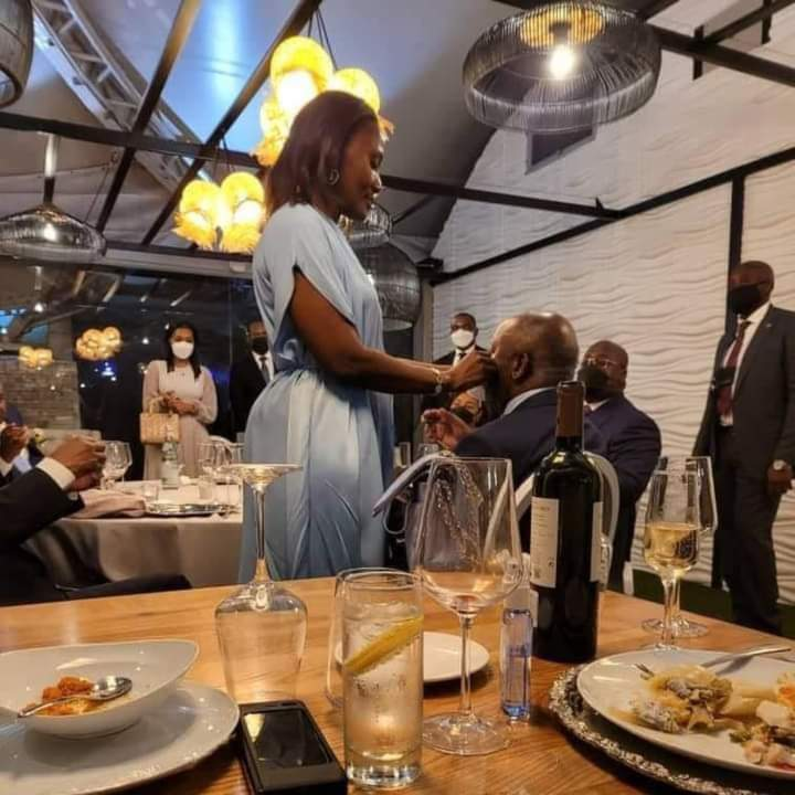 Laurent Gbagbo in Kinshasa for Jean-Pierre Bemba son's wedding
