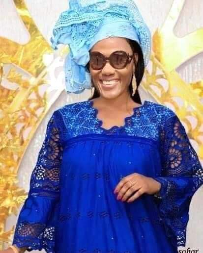 Laurent Gbagbo's second wife, Nady Bamba