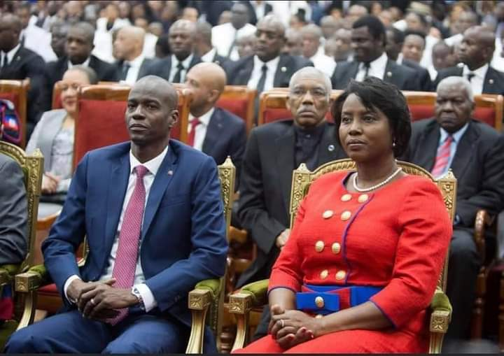 Haitian President Jovenel Moïse and wife assassinated