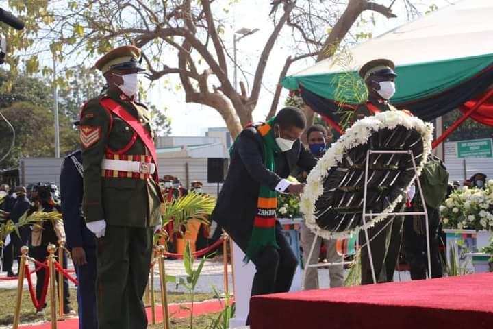 Zambia's first president, Kenneth Kaunda, buried