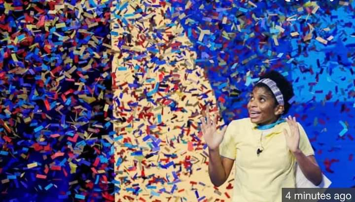 14-year-old wins the 2021 Spelling Bee