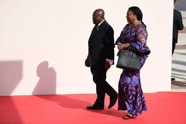 Ghana's first lady Rebecca Akufo-Addo hasoffered to refund all the allowances she has received