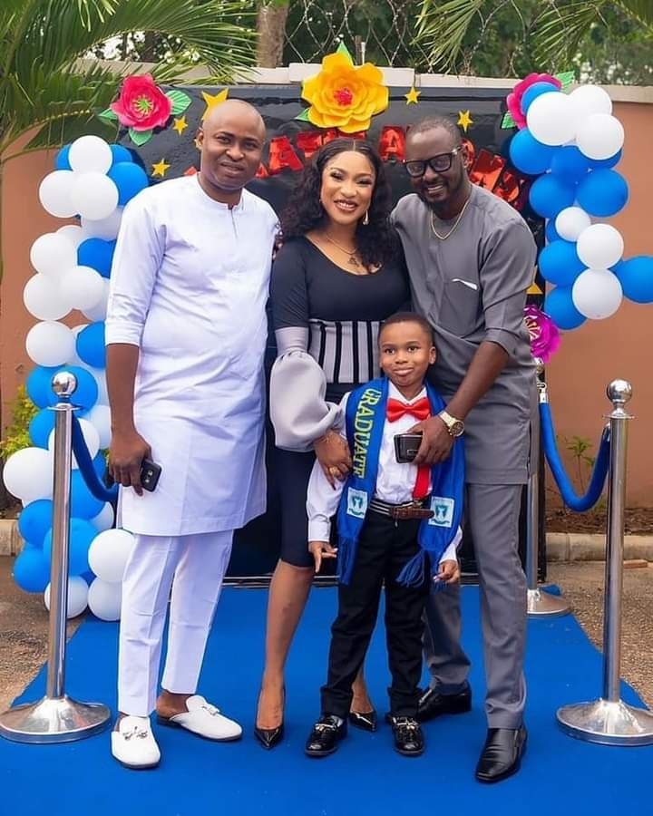 Tonto Dikeh: I have been secretly praying for a man to be a father to my son