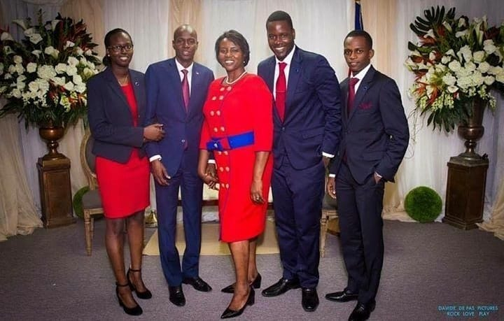First lady of Haiti Martine Moïse, is alive