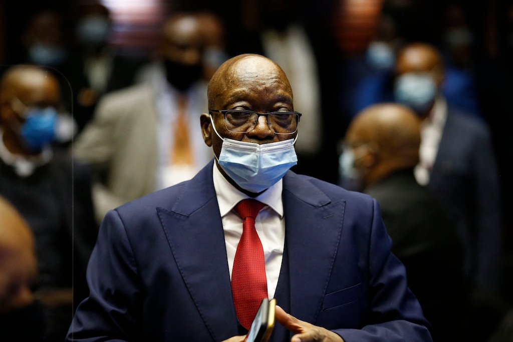 Judgment reserved in Zuma contempt case