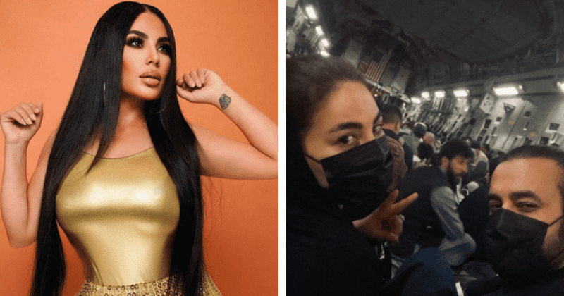 Aryana Sayeed, Afghanistan's biggest female pop star escapes on US cargo jet