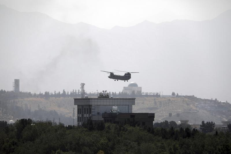 Afghan president leaves the country as Taliban move on Kabul